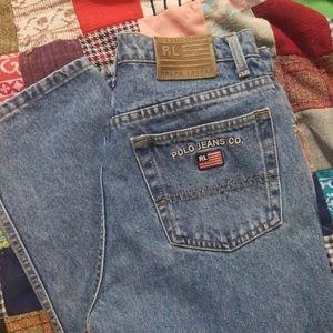 VTG 80s Mom Jeans Ralph Lauren Polo Jeans Company